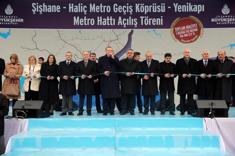Haliç Metro Köprüsü