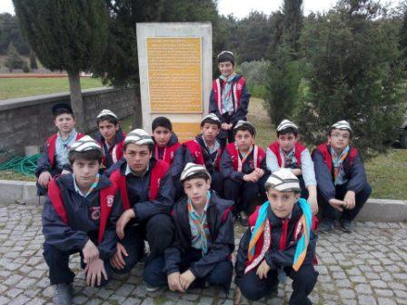 Kağıthane Yörünge İzcilik Gençlik ve Spor Kulübü izcileri