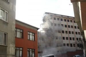 Kağıthane Anadolu İmam Hatip Lisesi Yıkım anı3