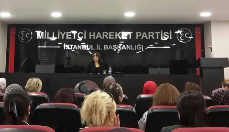 il kadın kolları başkanı esma hancıoğlu