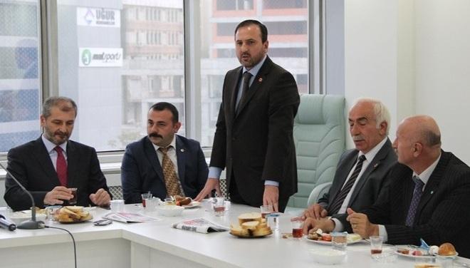 Saadet Partisi İlçe Başkanı Halid Özgür Atak