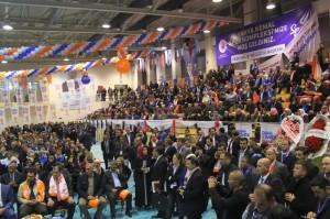 AK Parti Kağıthane 5. Olağan Kongrresi Yahya Kemal Kompleksi