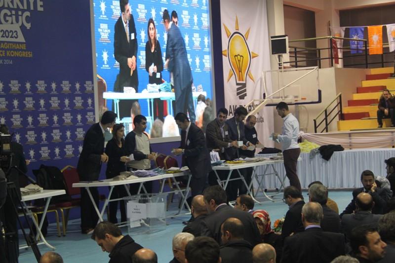 Ak Parti Kağıthane Kongre Oy Sonuçları