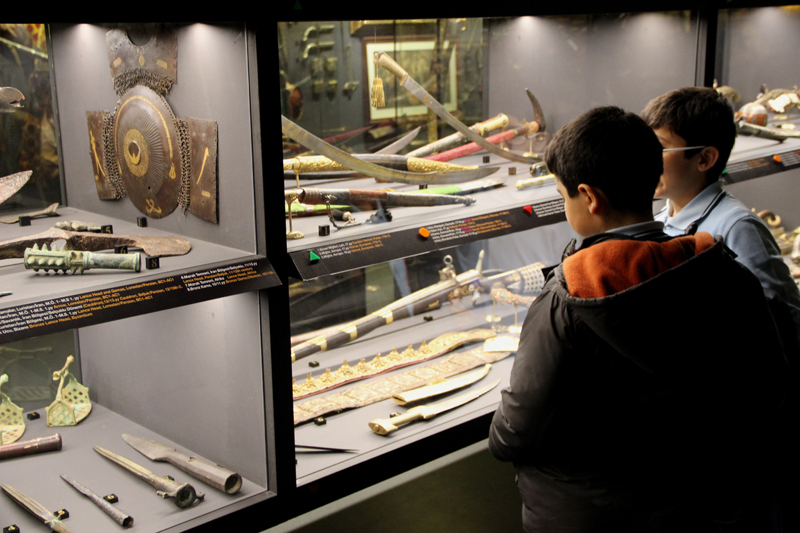 Hisart Canlı Tarih ve Diorama Müzesi Çocuklar