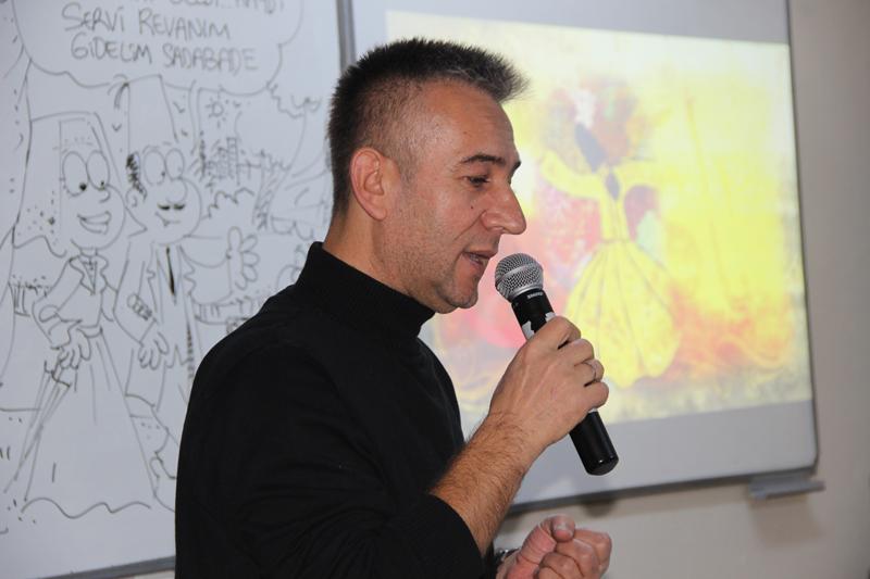 Karikatürist Turgut Yılmaz