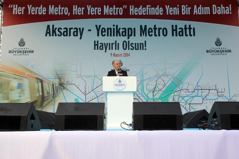 Aksaray-Yenikapı Metro Hattımız Hayırlı Olsun
