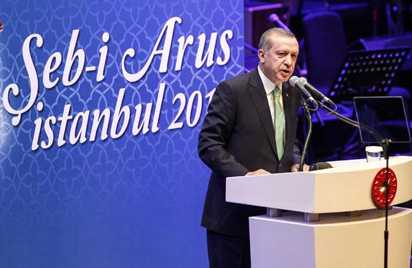 Hz.Mevlana İstanbul'da Şeb-i Arus'la Anıldı