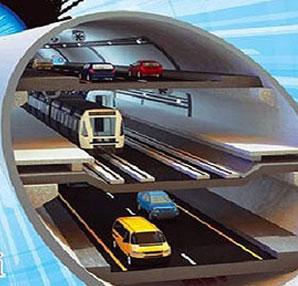 3 katli tunel