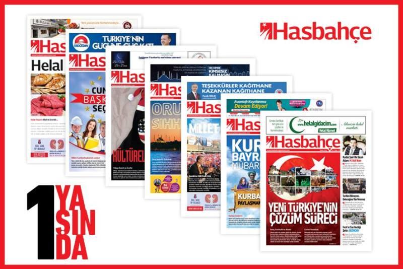 Hasbahçe Gazetesi 1 Yaşında