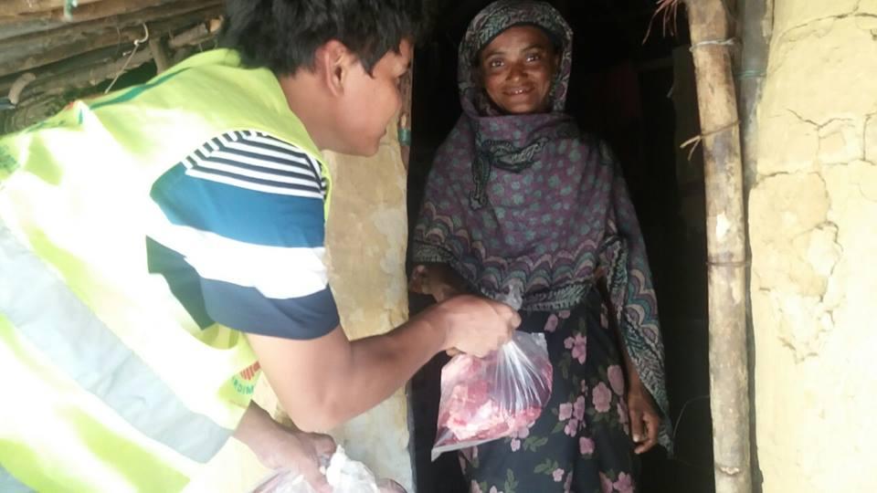 Afrika Bangladeş Kurban Dağıtımı Makder 2015