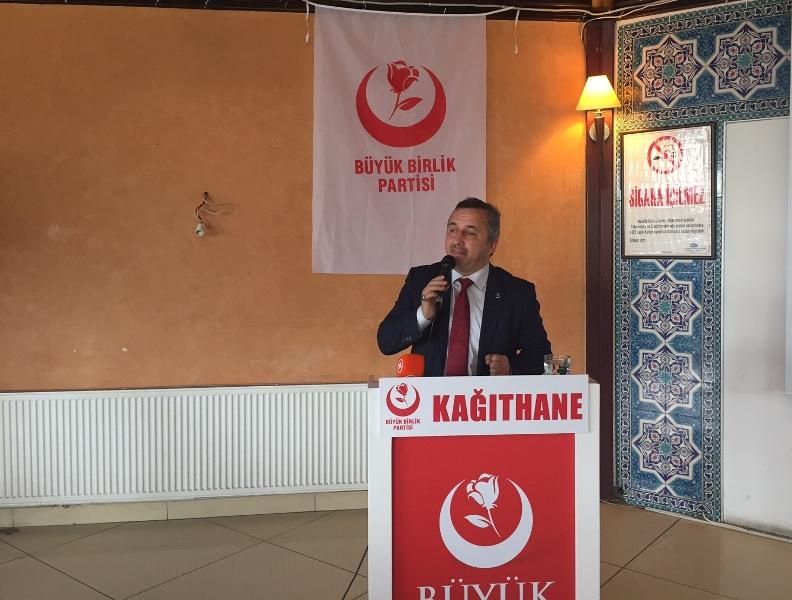 BBP İstanbul 2. Bölge Milletvekili Adayı Muhittin Açıcı