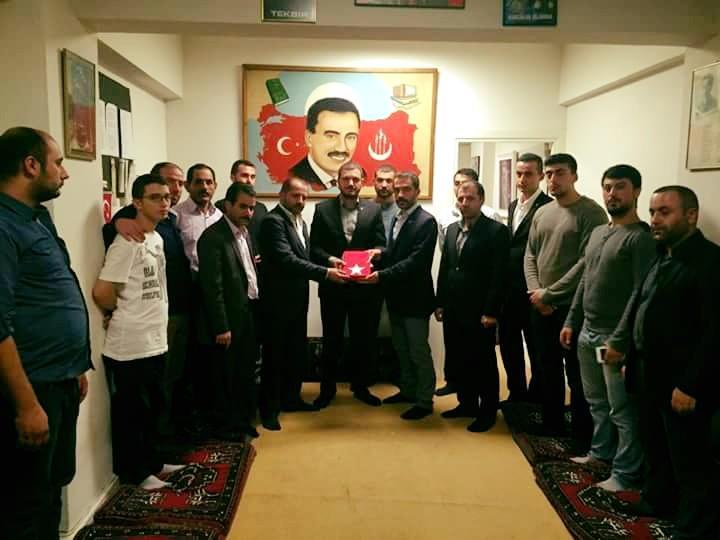 Kağıthane Alperen Ocakları Başkanı Cemal Yılmaz