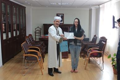 Rus Vatandaşı Anna GRISHINE Kağıthane'de Müslüman oldu