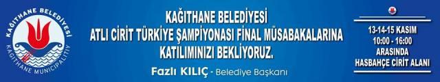 Atlı Cirit Türkiye Şampiyonası Kağıthane