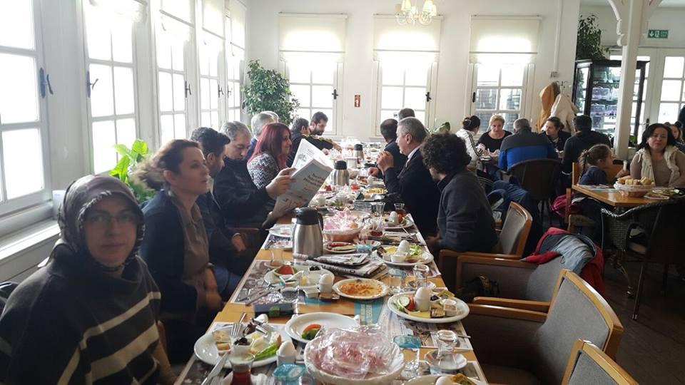10 Ocak Çalışan Gazeteciler Günü'nü Kutladı Kağıthane