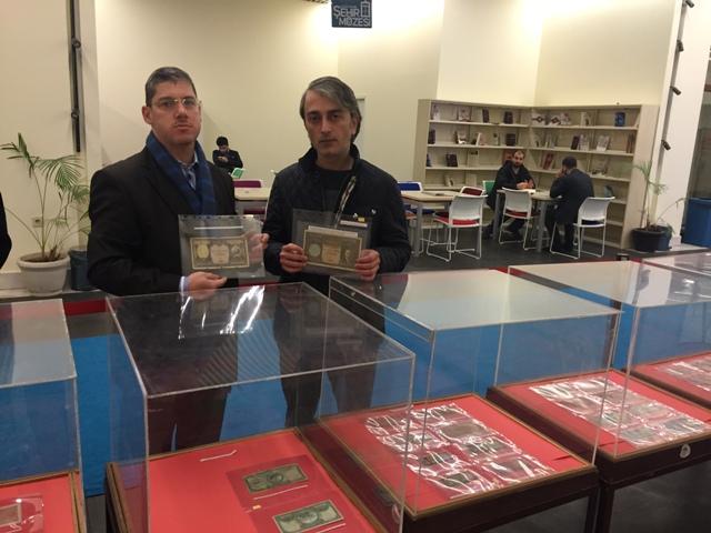 Gültepe Kültür Merkezi Numismatik Sergi Ayetullah Coşkun Volkan Taşar Berber