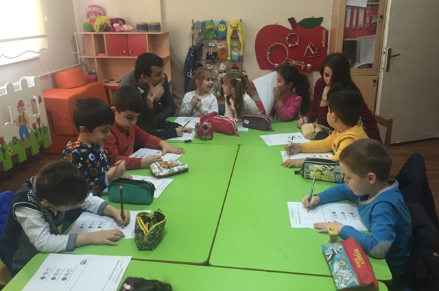Kağıthane Ç.Y. Eşref ve Sadullah Kıray Anaokulu Ders Vakti