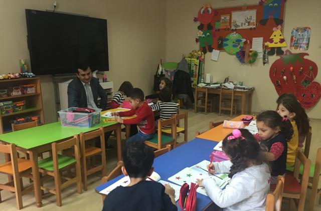 Kağıthane Ç.Y. Eşref ve Sadullah Kıray Anaokulu Ders