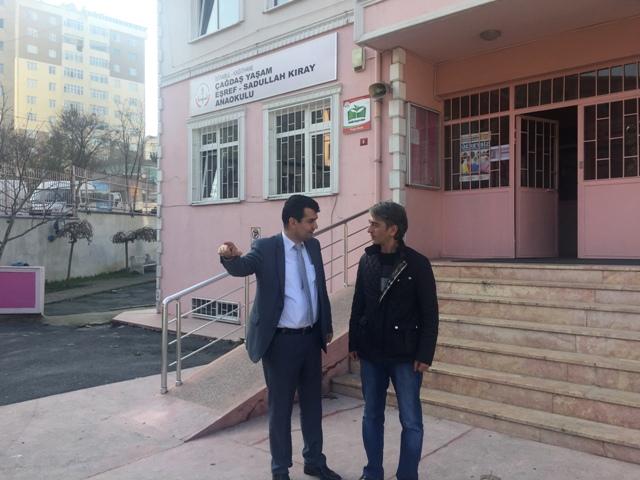 Kağıthane Ç.Y. Eşref ve Sadullah Kıray Anaokulu Erdoğan Ergin Röportaj