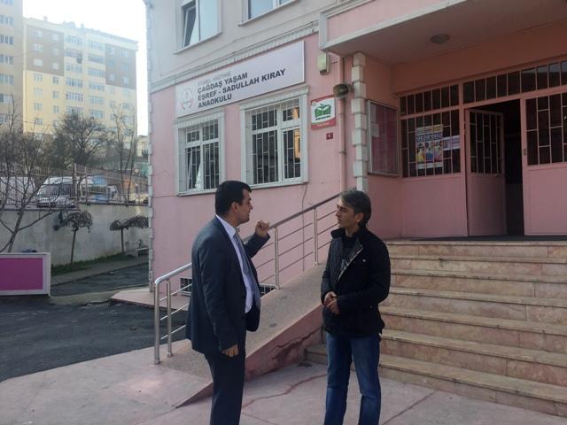 Kağıthane Ç.Y. Eşref ve Sadullah Kıray Anaokulu Müdürü Erdoğan Ergin