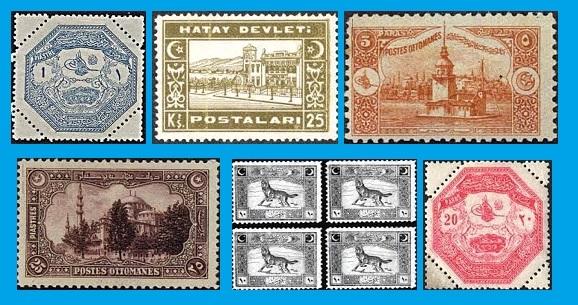 Osmanlı'da Ecnebi Postaları
