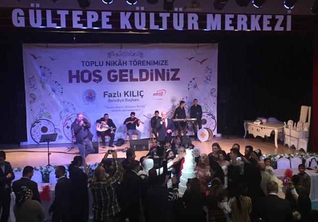 Toplu Nikah Töreni AK Parti Gültepe Mahalle Başkanı Murat Hezmen