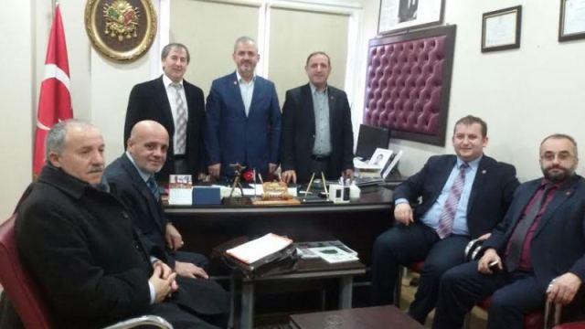İstanbul Muhtarlar Derneği Başkanı Selami Aykut Kağıthane'de