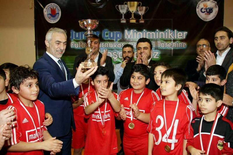 Junior Cup Miniminik Futbol Turnuvası İstanbul Bayburtspor