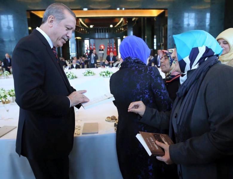 Recep Tayyip Erdoğan-Nuran Mümine Bucak