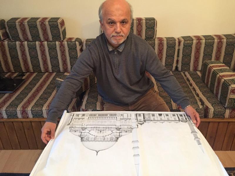 Süleymaniye Camii Projesi Mürsel Koca