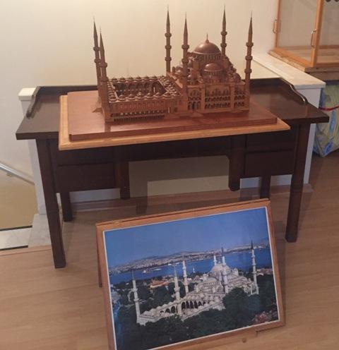 Sultan Ahmet Camii Ahşap Maket