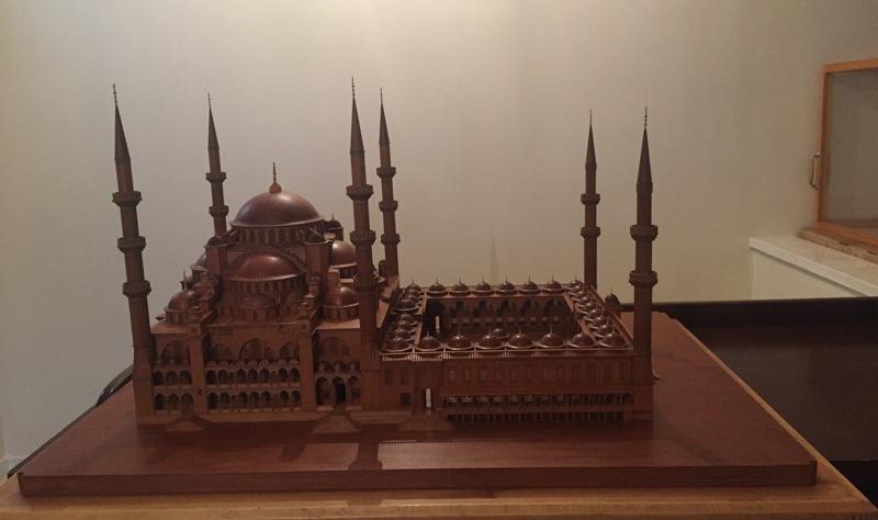 Sultan Ahmet Camii Maketi6