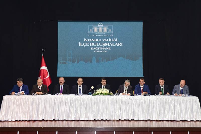 İstanbul Valiliği İlçe Buluşmaları Kağıthane