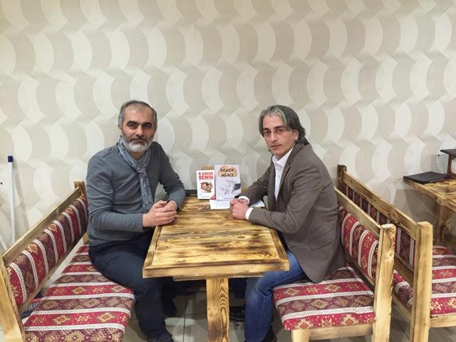 Şair Yazar Mehmet Akpınar ile kitaplarını ve şiiri konuştuk
