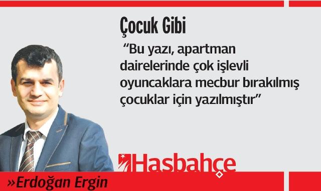 Erdoğan Ergin Köşe Yazısı