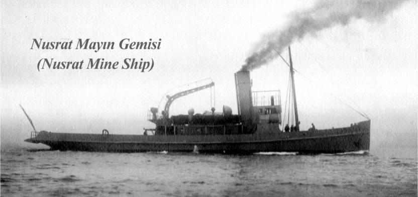 Nusrat Mayın Gemisi Çanakkale