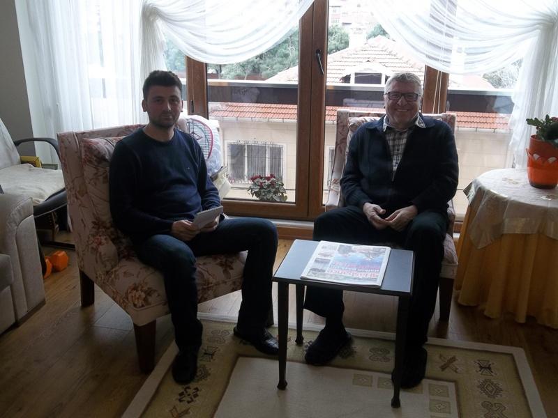 Tarihçi Yazar Turgut Ünlü Hasbahçe Gazetesi Röportaj