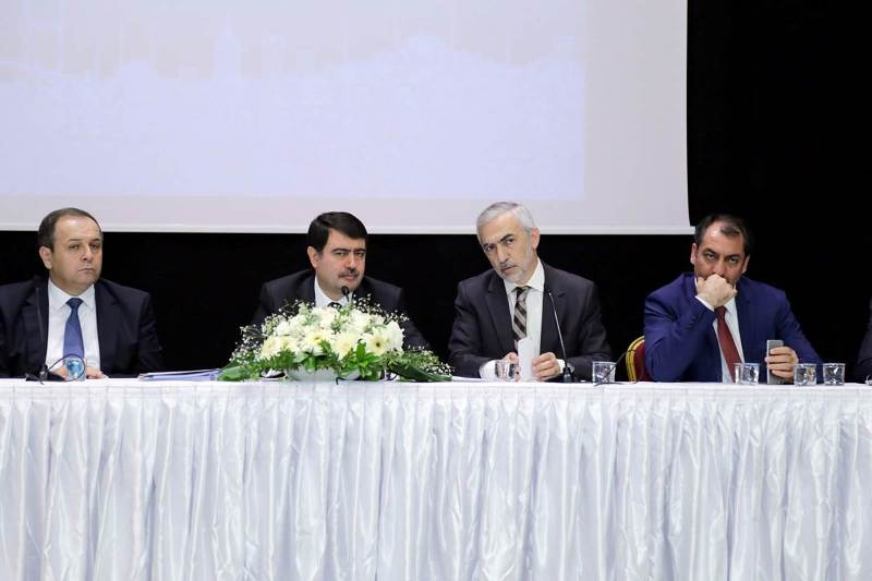 Vali Vasip Şahin Kağıthanelilerle Buluştu