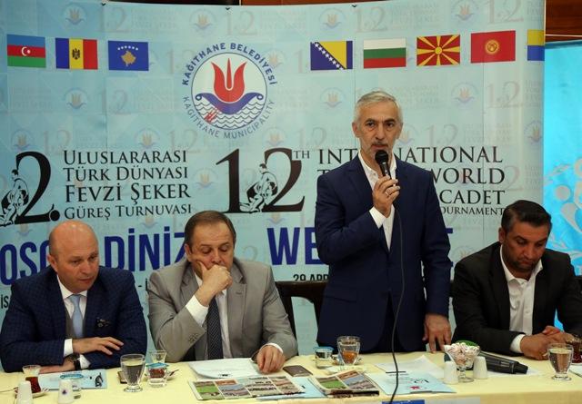 12.Uluslararası Türk Dünyası Fevzi Şeker Güreş Turnuvası Fazlı Kılıç