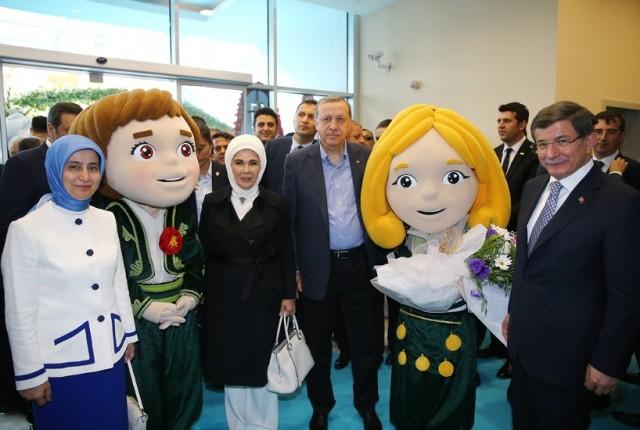 Expo 2016 Antalya-Recep Tayyip Erdoğan-Ahmet Davutoğlu