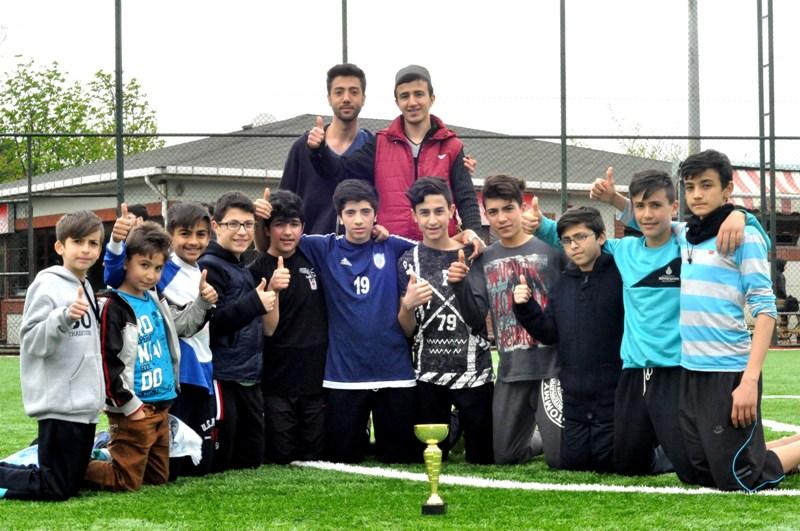 Kağıthane AGD Ortaokullar Futbol Turnuvası Sona Erdi