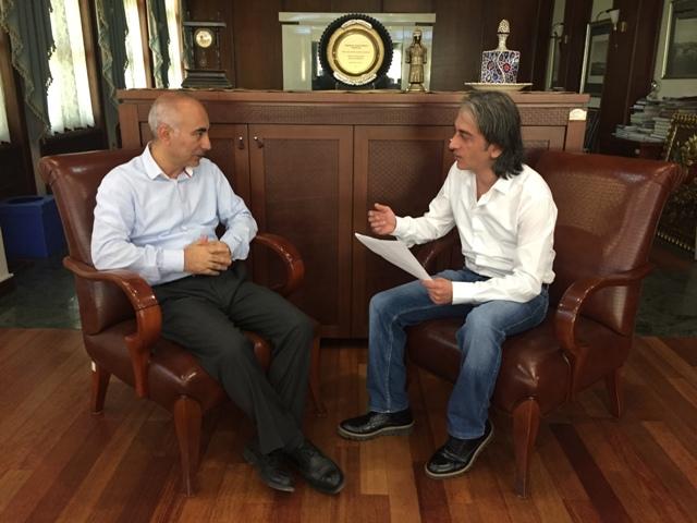 Kağıthane Belediyesi Basın ve Tarih Danışmanı Hüseyin Irmak ile Röportaj