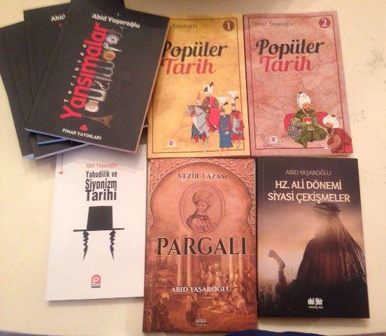 Tarihci Yazar Abid Yaşaroğlu Eserleri