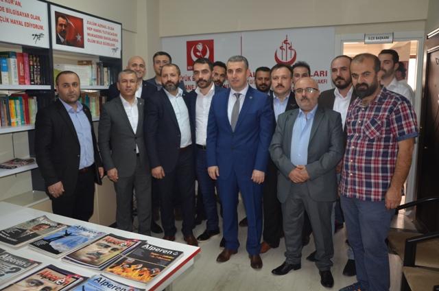 Yusuf Karademir Yeniden BBP İlçe Başkanı