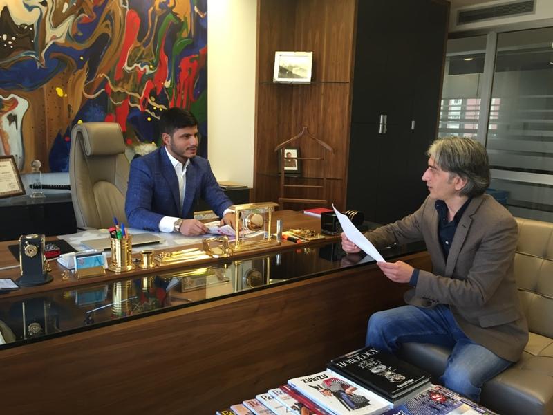 İbrahim Sudi GENAN Hasbahçe Gazetesi Röportaj