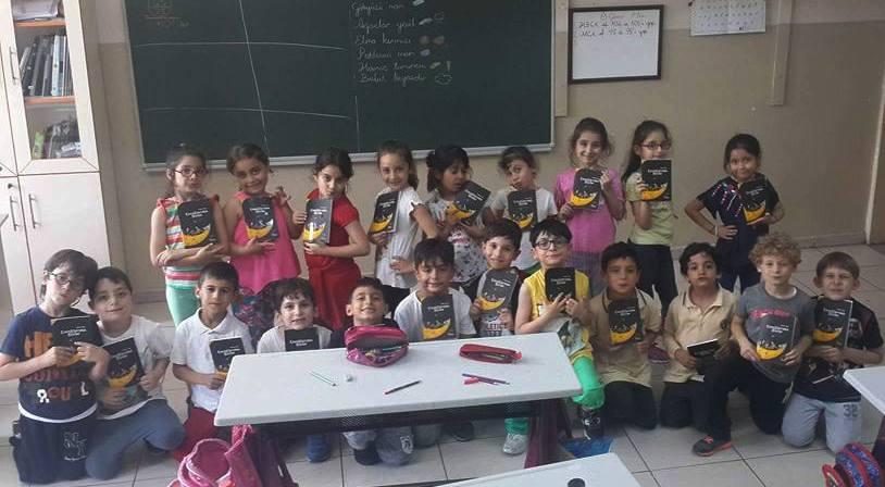 Erdoğan Ergin'in İki Çocuk Kitabı Çocuklarla Buluştu