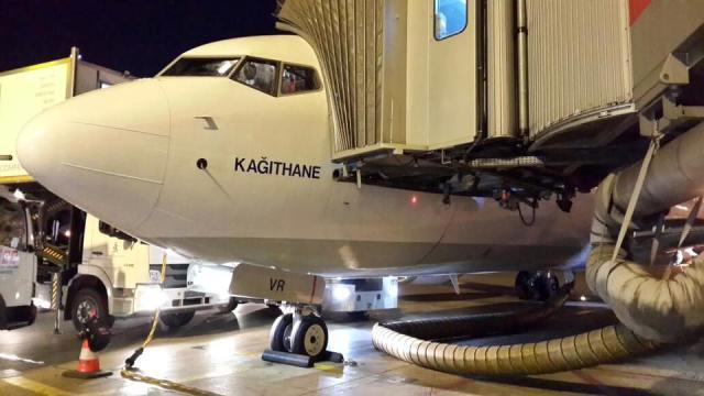 Türk Hava Yollarının yeni gururu Kağıthane