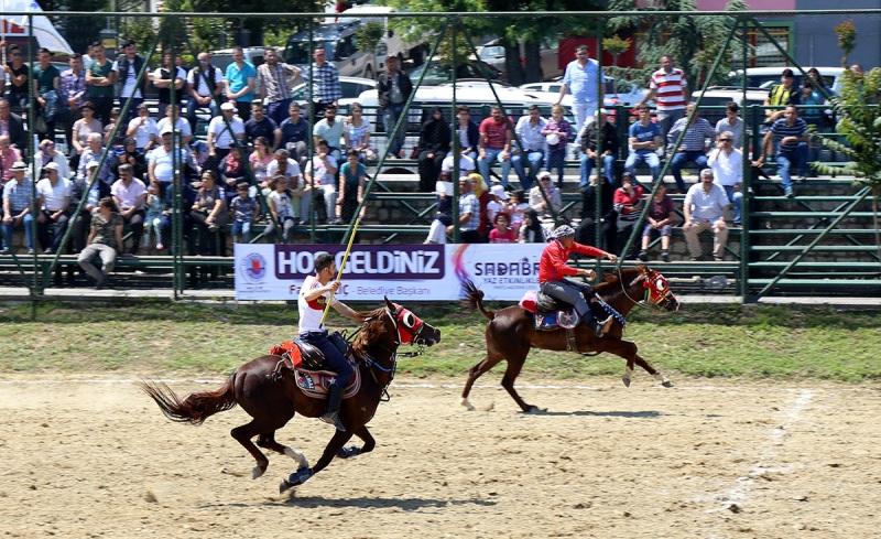 22.Atlı Cirit Yarışması Kağıthane