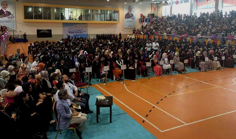 Kağıthane Kız Anadolu İmam Hatip Lisesi Mezuniyet Töreni