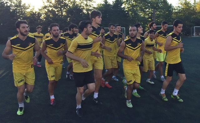 Çeliktepe Spor 2016-2017 Sezon antrenmanı